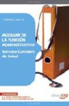 Titantitan.mx Auxiliar De La Funcion Administrativa. Servicio Cantabro De Salud Temario Vol. Ii. Image