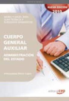 Bressoamisuradi.it Cuerpo General Auxiliar De La Administracion Del Estado. Word Y Excel 2003: Guia Teorica Y Supuestos Ofimaticos Image