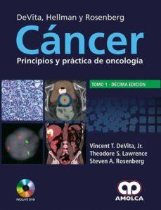 Descargar ebook gratis archivos pdf CANCER: PRINCIPIOS Y PRACTICA EN ONCOLOGIA  (2 VOLS.) + DVD (10ª ED.) de V. - LAWRENCE, T. - ROSENBERG, S. DEVITA JR.