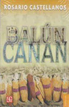balun canan-r. castellanos-9789681683030