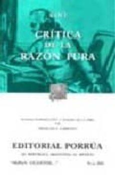 Permacultivo.es Critica De La Razon Pura (12ª Ed.) Image