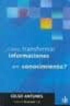 Ojpa.es ¿Como Transformar Informaciones En Conocimiento? Image