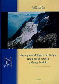 Titantitan.mx Mapa Geomorfológico Del Parque Nacional De Ordesa Y Monte Perdido Image