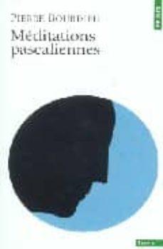 meditations pascaliennes (edition revue et corrigee)-pierre bourdieu-9782020611640