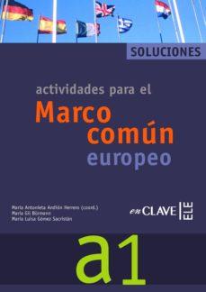Viamistica.es Marco Comun Europeo De Referencia Para Las Lenguas: Solucionario A 1 (Incluye Audio-cd) (Ele: Español Lengua Extranjera) Image