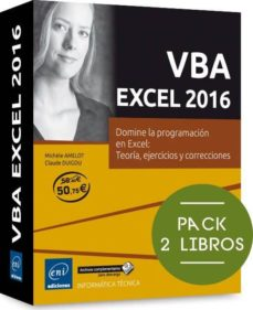 vba excel 2016-michele amelot-claude duigou-9782409004940