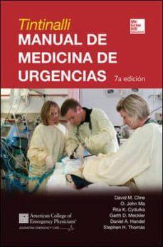 Iphone descargar gratis ebooks MANUAL DE MEDICINA DE URGENCIAS (Spanish Edition) PDB de CLINE 9786071509840