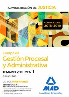 Geekmag.es Cuerpo De Gestión Procesal Y Administrativa De La Administración De Justicia Temario Volumen 1 Image