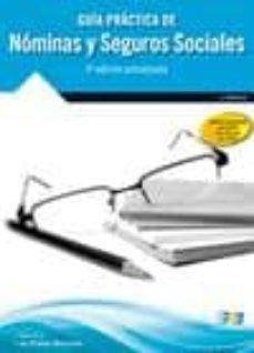 guia practica de nominas y seguros sociales (4ª ed.)-sandra de prado morante-9788415457640