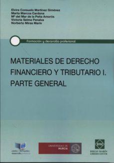 Bressoamisuradi.it Materiales De Derecho Financiero Y Tributario, I. Parte General Image