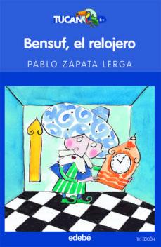 bensuf el relojero-pablo zapata lerga-9788423675340