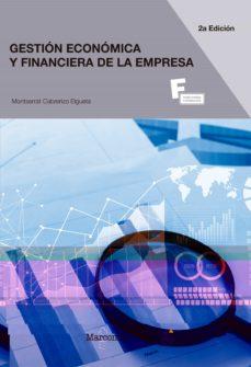 gestion economica y financiera de la empresa (2ª ed.)-montserrat cabrerizo elgueta-9788426724540