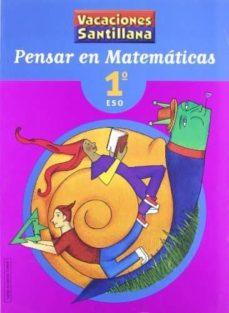 pensar en matematicas (1º eso)-9788429494440