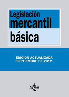 Srazceskychbohemu.cz Legislacion Mercantil Basica (9ª Ed.) Image