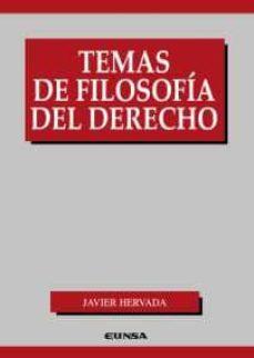 temas de filosofia del derecho-javier hervada-9788431328740