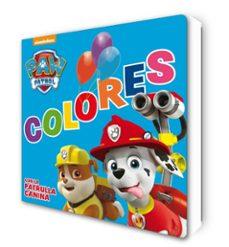 Elmonolitodigital.es Colores Con La Patrulla Canina (Paw Patrol - Patrulla Canina. Todo Cartón) Image