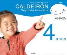 Inmaswan.es Caldeirón 4 Anos. Segundo Trimestre. Galicia Educación Infantil 3-5 Años Image
