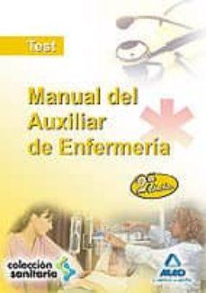Followusmedia.es Manual Del Auxiliar De Enfermeria: Test Y Examenes De Distintas C Onvocatorias Image