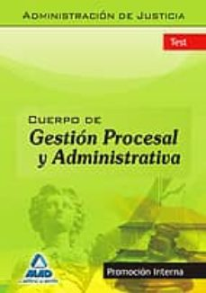 Carreracentenariometro.es Cuerpo De Gestion Procesal Y Administrativa (Promocion Interna). Test Image