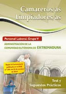 Alienazioneparentale.it Camareros/as-limpiadores/as. Personal Laboral (Grupo V) De La Adm Inistracion De La Comunidad Autonoma De Extremadura. Test Y Supuestos Practicos Image