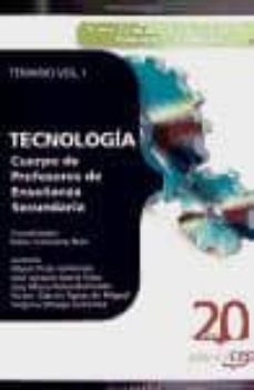 Geekmag.es Cuerpo De Profesores De Enseñanza Secundaria. Tecnologia. Temario Vol. I Image