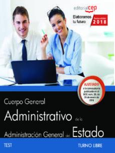 oposiciones ministerios administrativo (turno libre) test-9788468194240