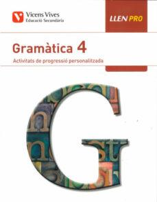 Viamistica.es Llen Pro 4. Gramàtica. Activitats De Progressió Personalitzada Image