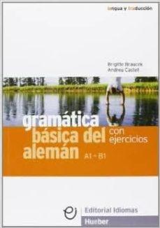 Encuentroelemadrid.es Gramatica Basica Del Aleman. Con Ejercicios Image
