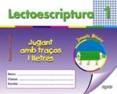 Javiercoterillo.es Lectoescritura I: Jugant Amb Traços I Lletres (Donyet Magic) (Edu Cacio Infantil) Image