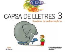 Elmonolitodigital.es Capsa De Lletres: Quadern Lectoescriptura (3 Educacio Primaria) Image