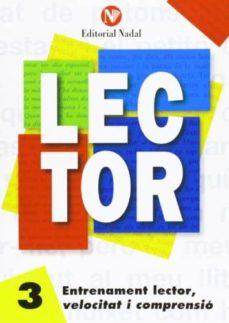 entrenament lector, velocitat i comprensió nº 3 lletra manuscrita-9788486545840