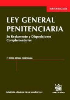 Cronouno.es Ley General Penitenciaria (3ª Ed.) Image