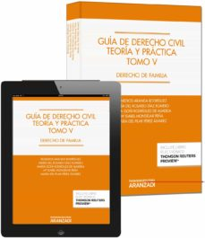guía de derecho civil. teoria y practica. tomo v: derecho de fami lia-remedios aranda rodriguez-9788490594940