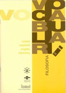 Viamistica.es Vocabulari De Filosofia Image