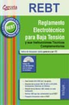 Descargar REBT: REGLAMENTO ELECTROTECNICO PARA BAJA TENSION gratis pdf - leer online