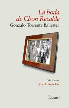 Libros en pdf para descargar gratis. LA BODA DE CHON RECALDE 9788493749040 (Literatura española) ePub DJVU