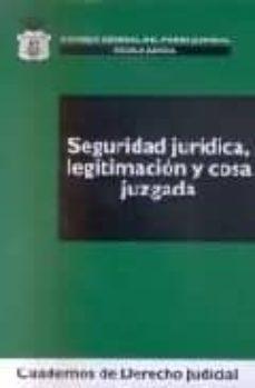 Treninodellesaline.it Seguridad Juridica, Legitimacion Y Cosa Juzgada Image