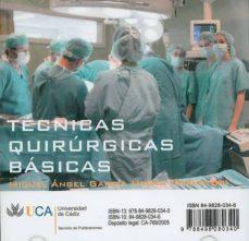 Comercioslatinos.es Tecnicas Quirurgicas Basicas (Cd-rom) Image