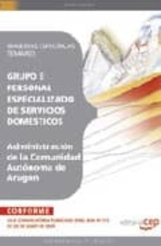 Viamistica.es Personal Especializado De Servicios Domesticos De La Administraci On De La Comunidad Autonoma De Aragon.materias Especificas. Image