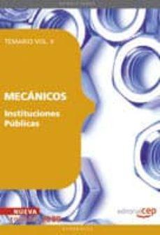 Inmaswan.es Mecanicos Instituciones Publicas. Temario Vol. Ii. Image