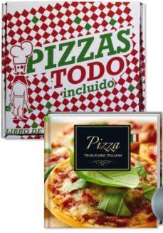 Emprende2020.es Pizzas Todo Incluido (Caja De Pizzas: Libro + Corta-pizzas) Image
