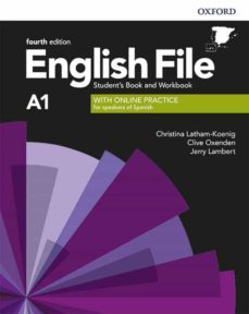 Descargas gratuitas de libros de amazon ENGLISH FILE 4TH EDITION A1. STUDENT S BOOK AND WORKBOOK WITH KEY PACK iBook de  9780194057950 (Literatura española)