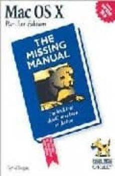 mac os x: the missing manual-david pogue-9780596006150
