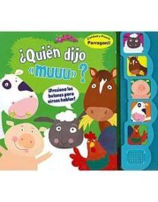 Asdmolveno.it ¿Quien Dijo Muuu?( Libro Sonoro) Image