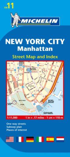 plano new york city: manhattan 2012 (ingles)-9782067173750