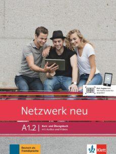 Libros electrónicos para descargar NETZWERK NEU A1.2  ALUM + EJER + AUD VID CHM ePub (Literatura española)