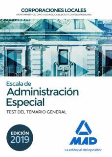 Permacultivo.es Escala De Administracion Especial: Corporaciones Locales: Test Del Temario General Image