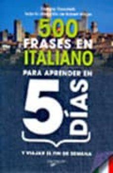500 frases en italiano-stefano donatelli-9788431540050