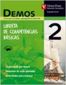 Concursopiedraspreciosas.es Ciencias Sociales: Demos 2º Eso (Andalucia) Libreta Competencias Básicas Image
