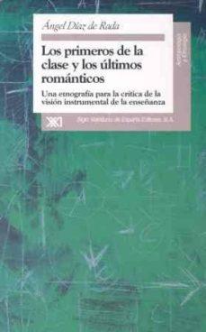 Permacultivo.es Los Primeros De La Clase Y Los Ultimos Romanticos: Una Etnografia Para La Critica De La Vision Instrumental De La Enseñanza Image